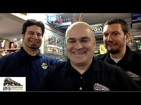 My man Chris Brand Manager from Athearn live at DCCTRAIN store