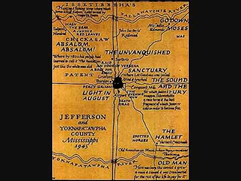 William Faulkner Draws Maps of Yoknapatawpha County, the Fictional Home of His Great Novels