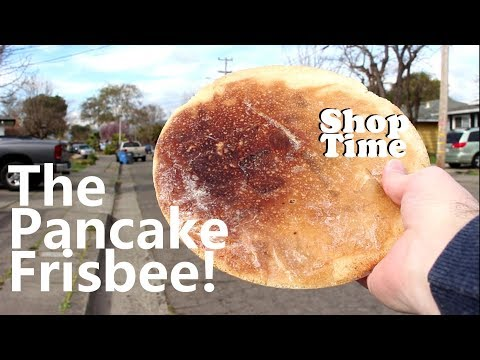The Pancake Frisbee