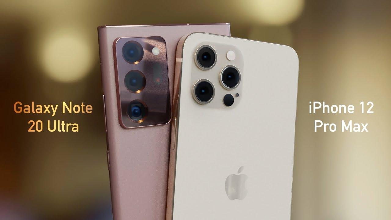 iPhone 12 Pro Max vs Galaxy Note 20 Ultra!
