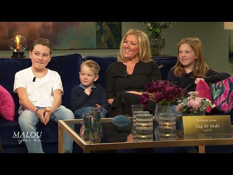 Judiska mamman Jenny: Svårt att leva öppet judiskt i Sverige  Malou Efter tio (TV4)