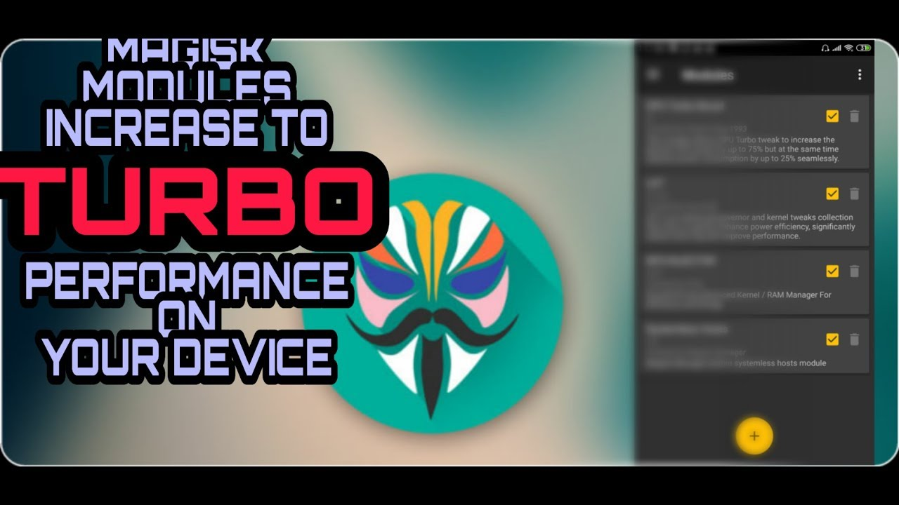 MAGISK MODULES FOR TURBO GAMING PERFORMANCE || PUBG, ASPHALT 9,ROS e t c ||