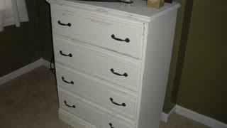Distressing Dressers