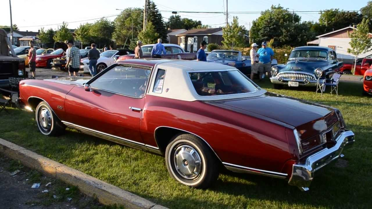 Stock 1974 Chevy Monte Carlo Walk Around Youtube