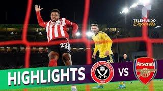 Sheffield United vs. Arsenal: 1-0 Goals & Highlights | Premier League | Telemundo Deportes