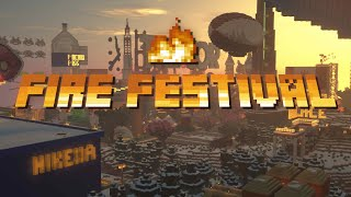 i played a music festival in minecraft #FIREFEST2019