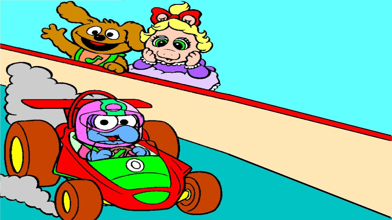 muppets babies coloring pages muppets babies coloring book youtube