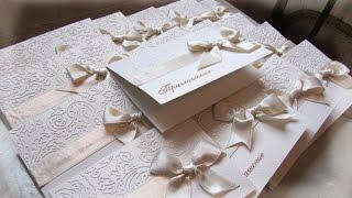 # 14 Свадебные приглашения