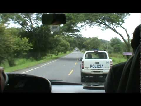 Passing the Police Costa Rica