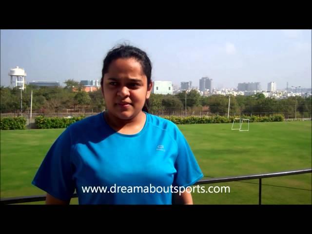 Rising Stars - Indian badminton doubles player Poorvisha Ram speaks to DAS