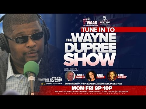 LIVE: The Wayne Dupree Show November 9, 2016