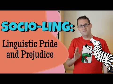 Sociolinguistics and Dialects