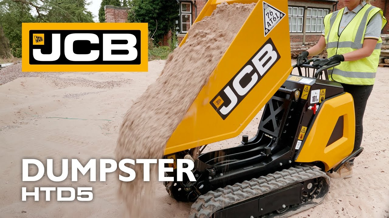 JCB HTD5 - Tracked High-Tip Dumpster