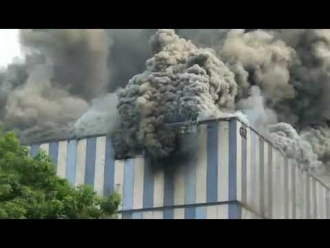 Blast in Huawei Lab G1