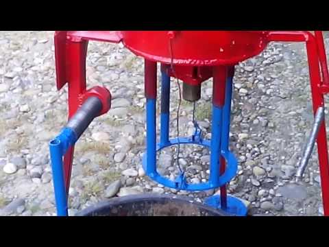 My new type of briquette press