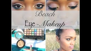 Beach Eye-Makeup| One Brand |STYLE Haul Parter!