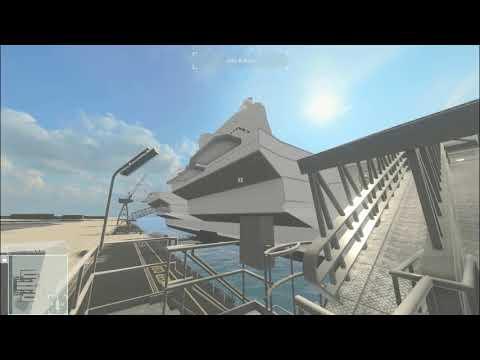Queen Elizabeth Class (QEC) Aircraft Carrier 3D Walk-through