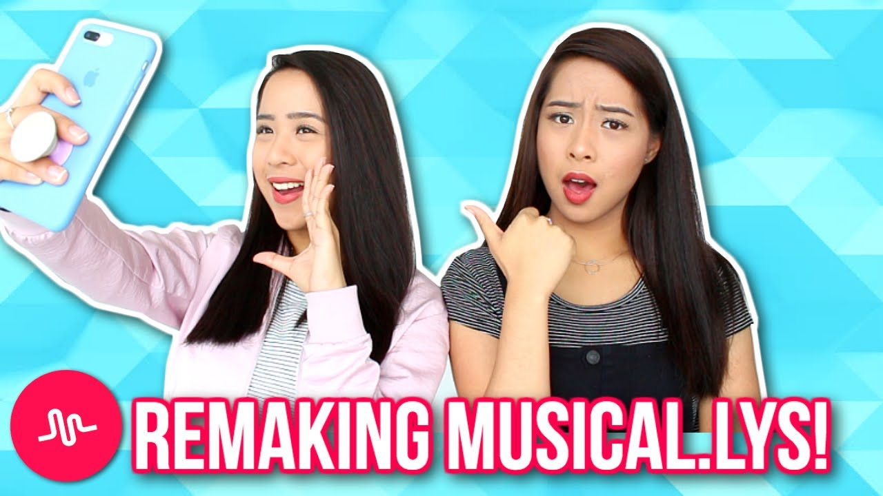 MY TWIN REMAKES MY MUSICAL.LYS! | Caleon Twins