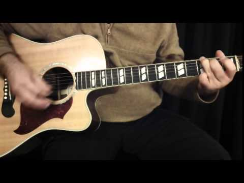 Tender years How to play on guitar John Cafferty