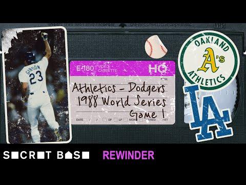 Kirk Gibson's Game 1 walk-off deserves a deep rewind   1988 World Series