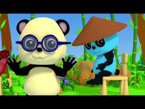หัว,เข่าไหล่และนิ้วเท้า | บ๊องสำหรับเด็ก | Learn Body Parts | Baby Bao Panda | Head Shoulder Knees