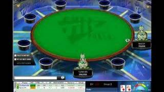 Heads up poker, disconnected!