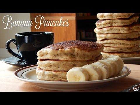 Banana Pancakes Recipe | How to Make Banana Pancakes From Scratch | The Sweetest Journey