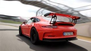 Porsche 911 GT3 RS 2016 Review on Racetrack