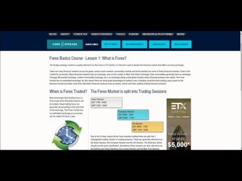 Forex 101 - Forex Basics #1 - What is Forex?