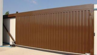 Откатные автоматические ворота. Современные откатные ворота(http://goo.gl/KeSSjv Современные откатные ворота на сегодняшний день имеют самую совершенную и практичную конструк..., 2014-09-17T13:43:57.000Z)