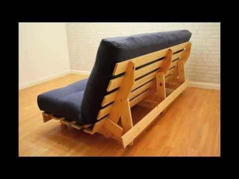 York Pine Futon Funkyfuton Youtube