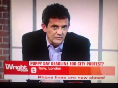 Occupy LSX - St Paul's Cathedral Eviction - The Wright Stuff.wmv