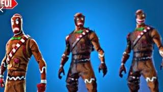 CANDY CANE WRAP SUR ALL WEAPON SKINS FORTNITE NEW MERRY MARAUDER-BACKBLING