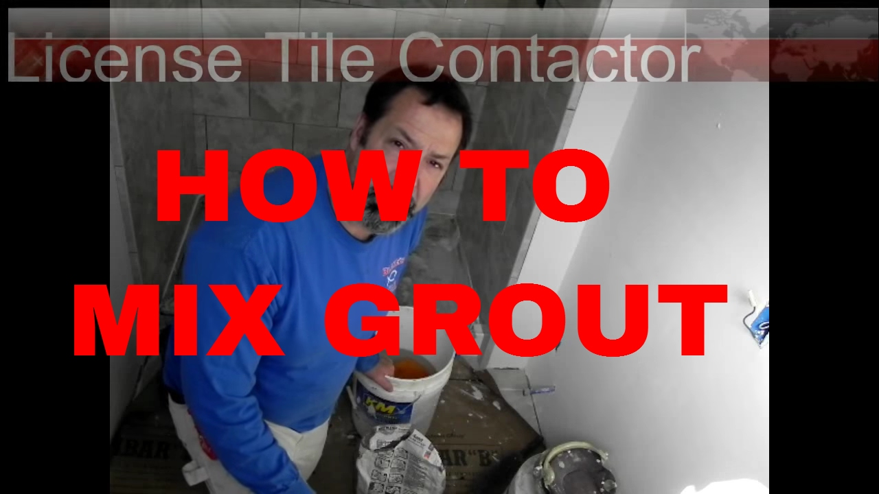 How to mix grout the right way by dave blake license tile how to mix grout the right way by dave blake license tile contracto dailygadgetfo Choice Image