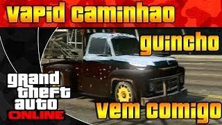 GTA V ONLINE - CAMINHÃO GUINCHO - VERSÃO 1.06 É SÓ AQUI - VEM COMIGO - GTA 5 ONLINE - PORTUGUÊS