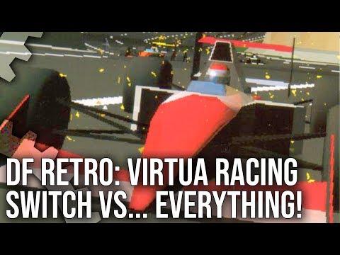 DF Retro: Virtua Racing Switch vs Every Console Port vs Model 1 Arcade!