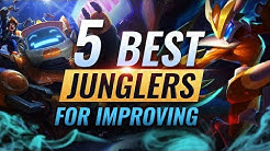 5 Champions You MUST LEARN To Improve as Jungle - League of Legends Season 9
