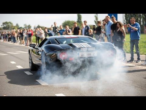 Supercars Accelerating - McLaren Senna, Liberty Walk 458, 4x 991 GT2 RS, Widebody Mustang, POG,...