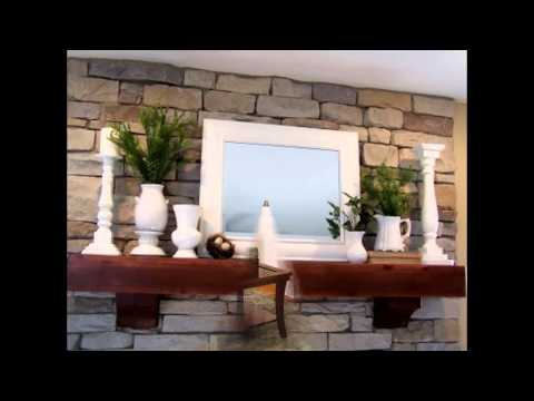 Awesome Fireplace mantel decorating ideas