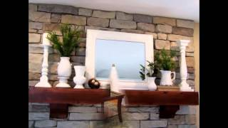 Gambar cover Awesome Fireplace mantel decorating ideas