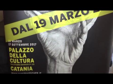 Mostra Escher Al Palazzo Della Cultura Di Catania Youtube