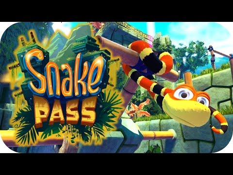 Snake Pass - 1. Gold Coin Diet! - Let's Play Snake Pass