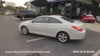 Autoline Preowned 2004 Toyota Solara For Sale Used Walk Around Review Test Drive Jacksonville