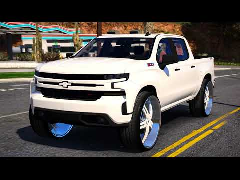 2019 Chevrolet Silverado Trail Boss on 28 inch Asanti ...