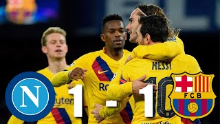 Napoli Vs Barcelona 1-1 , Champions League, Round Of 16, 2020 - Match Review
