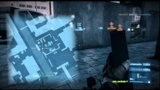 Battlefield 3 - M224 Mortar Gameplay