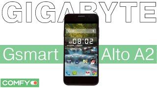 Gigabyte Gsmart Alto A2 - доступный Android смартфон - Видеодемонстрация от Comfy