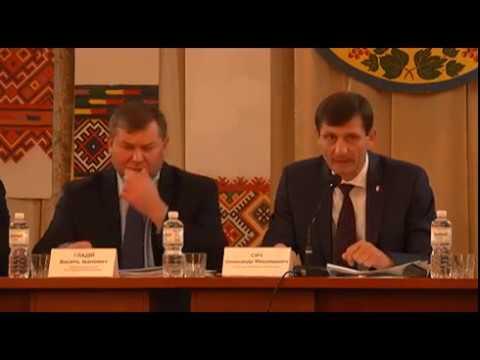 Виїзна сесія обласної ради в м. Тлумач. 27.10.2017