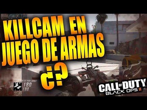 BUSCANDO KILLCAM EN JUEGO DE ARMAS Y 1VS1 EN BLACK OPS 2 | ElyesonE