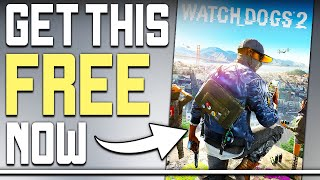 Get Watch Dogs 2 For FREE Right Now + Great PC Game Deals!